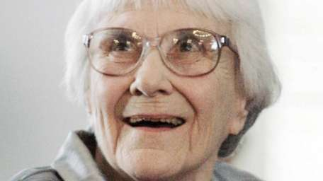 """""""To Kill a Mockingbird"""" author Harper Lee attends"""