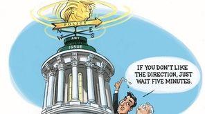 R.J. Matson cartoon on Congressional leaders' response to