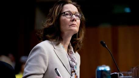 Gina Haspel, President Donald Trump's pick to lead