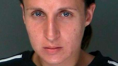 Felicia Squillace, 26, of Coram, was arrested Thursday