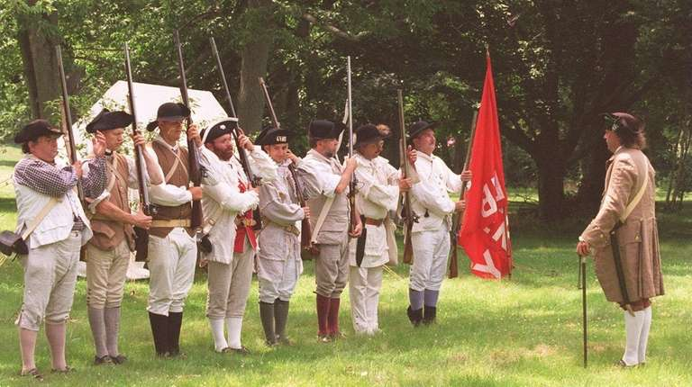 Members of the Ancient and Honorable Huntington Militia,