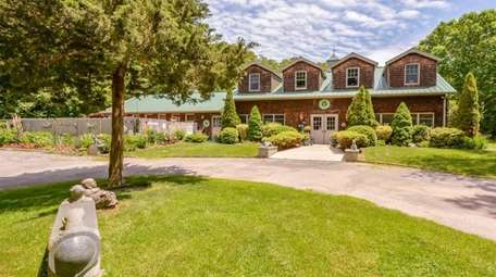 This six-acre property in Aquebogue, which includes a