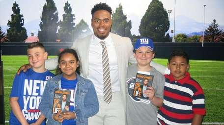 Former NFL star and author Rashad Jennings with