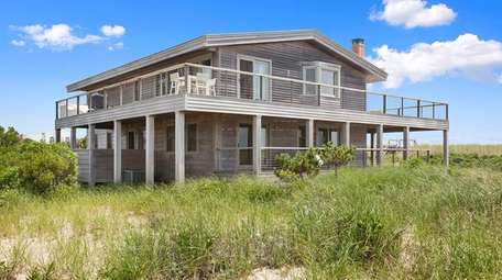 The 3,500-square-foot Wainscott house has three bedrooms, two