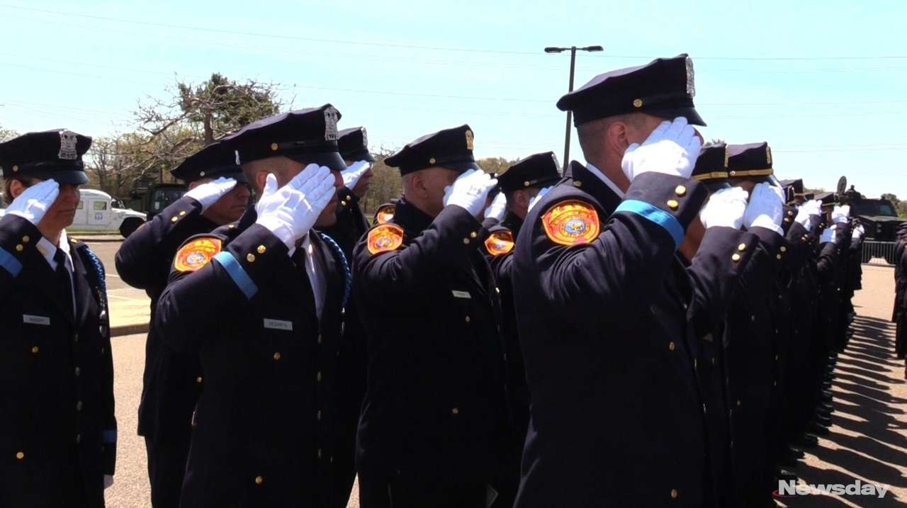 On Friday, the Suffolk County police department held