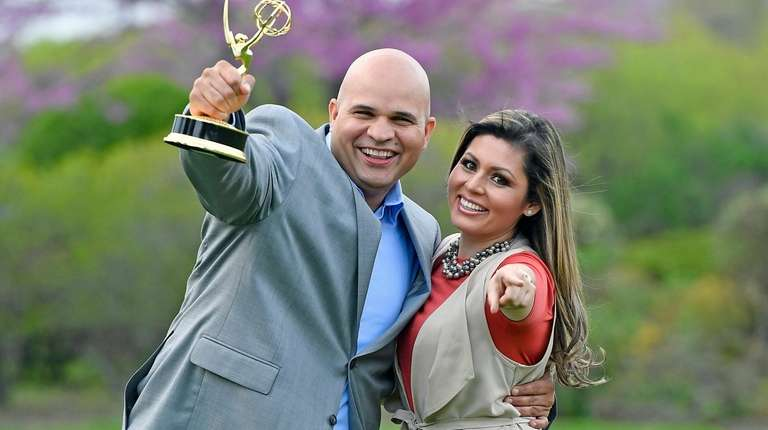 Bernardino Rosario and his wife Astrid Cordoba are