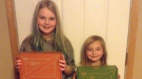 Kidsday reporter Emily Baker and her younger sister,