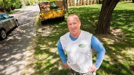 William C. Van Helmond, a landscape contractor who