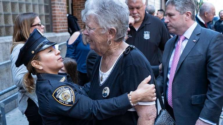 Marjorie Dwyer, mother of slain NYPD officer Anthony