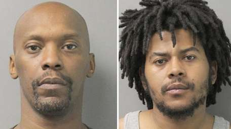John Funches, 44, of Hempstead and Barshawn Potter,