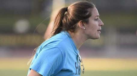 St. Anthony's girls lacrosse coach Summer Ferraro has