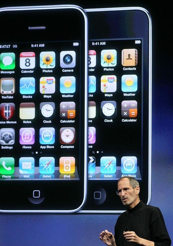 CUPERTINO, CA - APRIL 08: Apple CEO Steve
