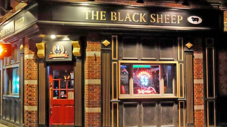 The Black Sheep Ale House is seen in