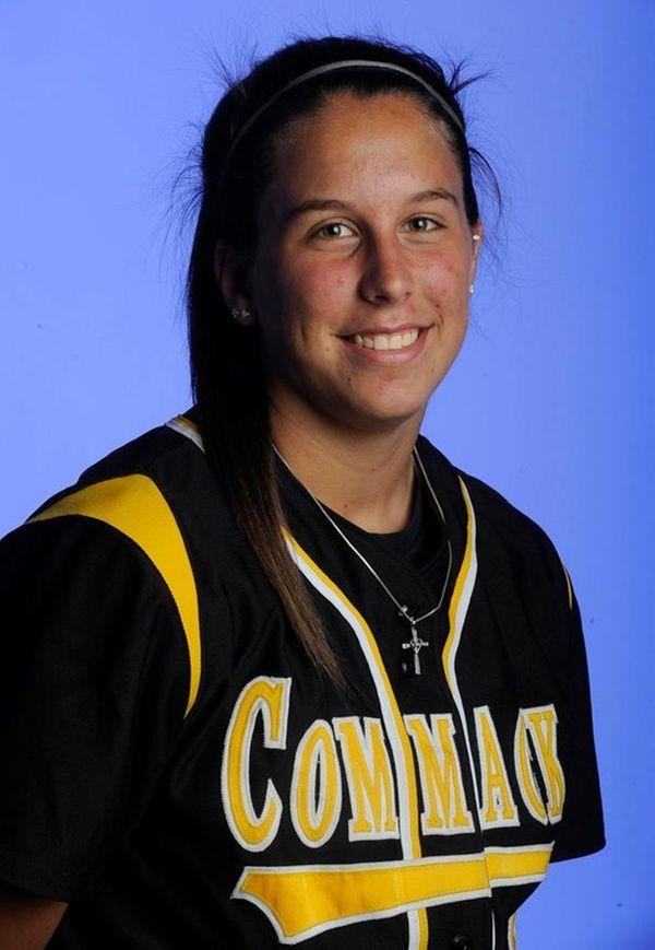 Commack second baseman Nicole Hagenah will help the