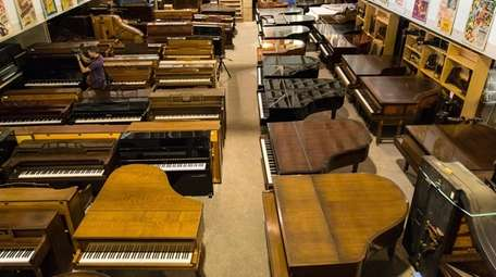 New and refurbished pianos at The Piano Exchange