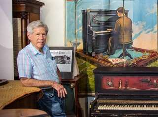Richard Smith at The Piano Exchange in Glen