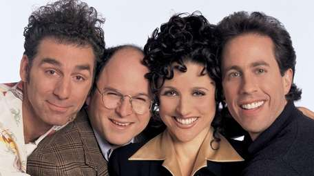 "From left, the cast of ""Seinfeld"": Michael Richards"