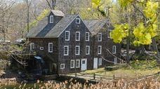 The historic Stony Brook Grist Mill in Stony