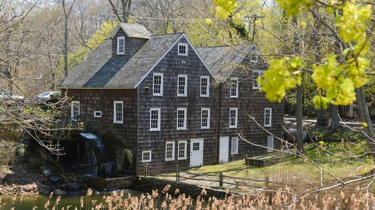 The historic Stony Brook Grist Mill in Stony
