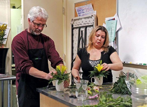 Chris McCann, 49, president of Carle Place-based 1-800-Flowers.com
