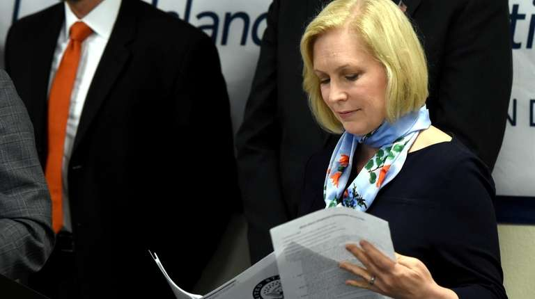 U.S. Sen. Kirsten Gillibrand was at the Long