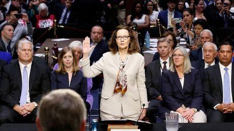 Gina Haspel, President Donald Trump's nominee to head
