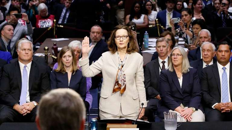 Gina Haspel, President Donald Trump's nominee to head