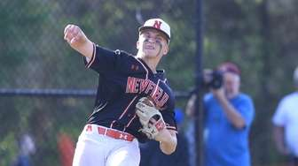 Newfield's Bobby Vath makes a great defensive play