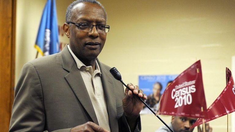 Hempstead Mayor Wayne Hall said that $5 million