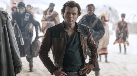 "Alden Ehrenreich is Han Solo in ""Solo: A"