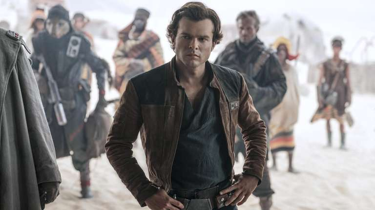 "Alden Ehrenreich is Han Solo in ""Solo: A"