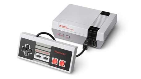The NES Classic Edition is a miniature video