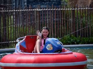 Alexa Heise, 12, of Levittown at Bayville Adventure