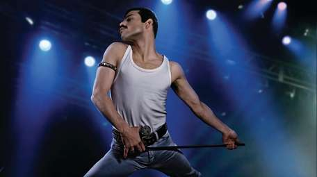 Rami Malek as rock icon Freddie Mercury in