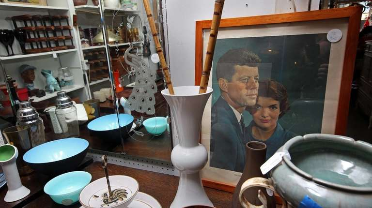 Carousel Antiques on Warren Street has an eclectic