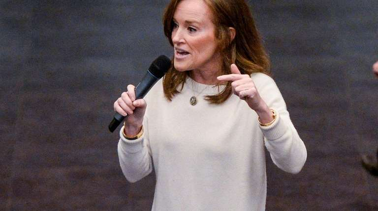 Rep. Kathleen Rice seen here on March 4