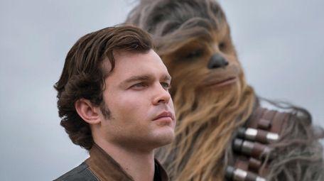 Alden Ehrenreich is Han Solo and Joonas Suotamo
