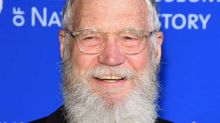 David Letterman attends the American Museum Of Natural