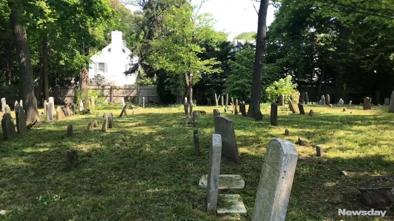 Historic Monfort Cemetery in Port Washington is being