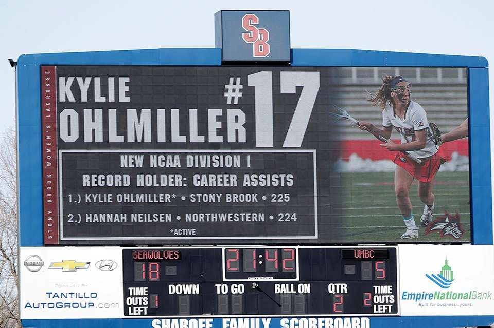 Those who've watched Kylie Ohlmiller flourish at Stony