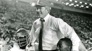 Billy Brewer, head coach of the University of