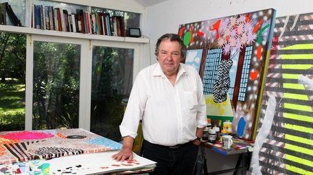 British architect Will Alsop in his studio at