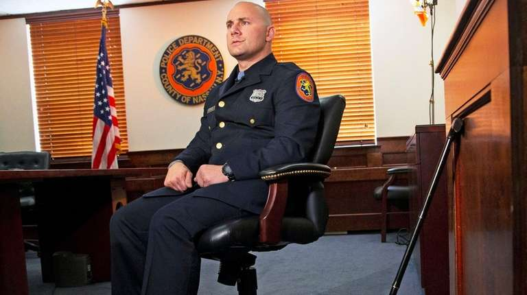 Nassau Police Officer Rick Bruno, who was dragged