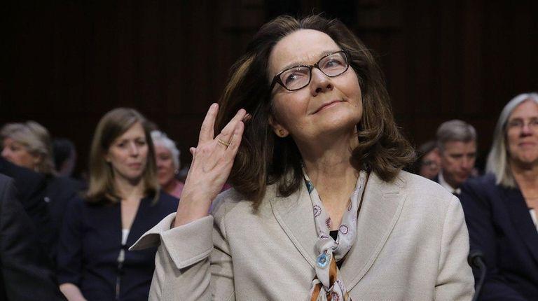 Gina Haspel prepares to testify before the Senate