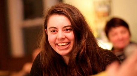 Lindenhurst school board candidate Gabrielle Anzalone, 18, as