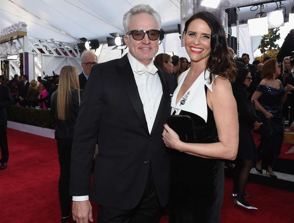 Actors Bradley Whitford and Amy Landecker announced their