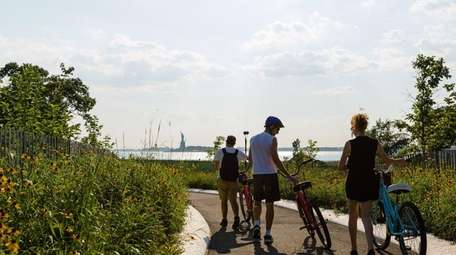Governors Island, a short ferry away from Manhattan