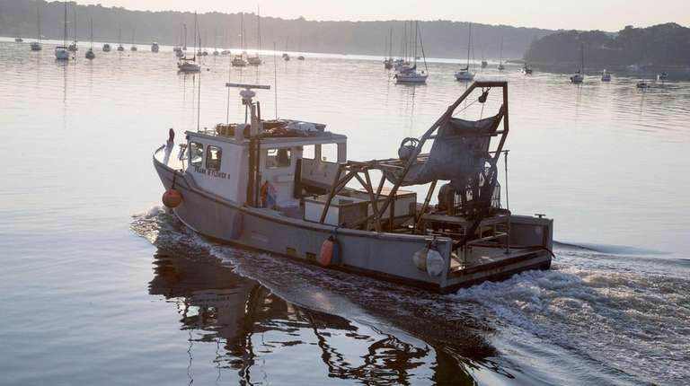 Frank M. Flower & Sons Inc. boat as