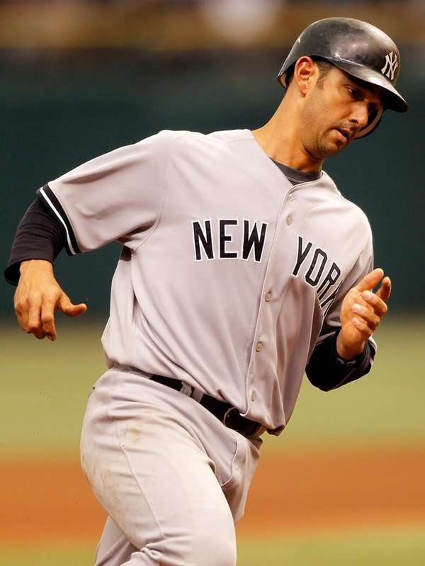 Catcher Jorge Posada #20 of the New York