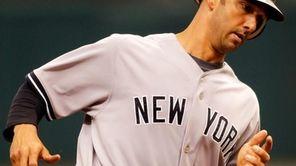 Catcher Jorge Posada #20 of the New York
